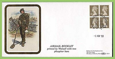 G.B. 1993 Airmail booklet Benham First Day Cover, Windsor, D215