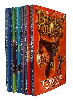 Beast Quest Series 3 Dark Realm 6 Books  Adam Blade Boys Adventure Fun New