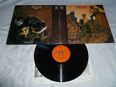 THERAPY-almanac '72 UK CBS LP ORIG. UK FEM.PSYCH FOLK BAND