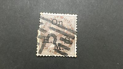 A131. India British Colony Stamp  One Annas Queen Victoria Anna Sotn