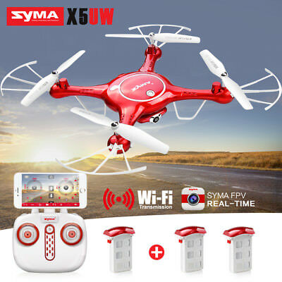 Genuine Syma X5UW Hover RC Quadcopter Drone with Camera FPV Real Time Live Video