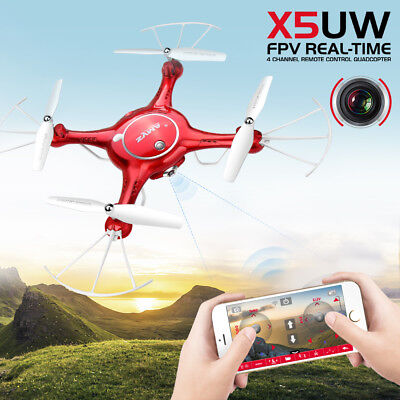 Syma X8G 2.4Ghz 4CH 6-Axis Gyro 8MP HD Camera RC Quadcopter Drone GoPro Style