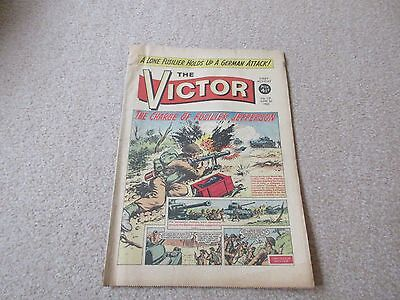 THE VICTOR COMIC,  No 119- June 1st 1963- 'The Charge of Fusilier Jefferson'