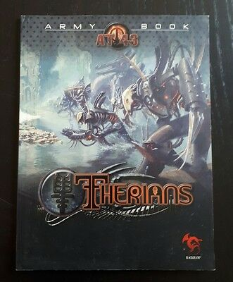 Rackham AT-43 Therians Army book - English language
