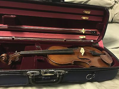 violin full size florentine reproduction made in Germany around 1952