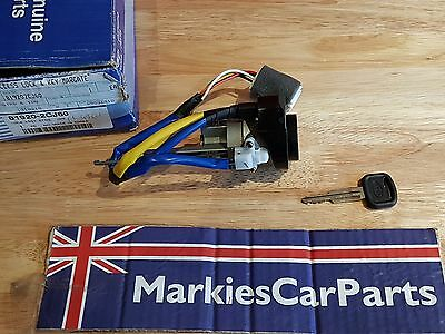 Hyundai Coupe Ignition Lock & Key & Loom Genuine New 819202Cj60 2001-2006 Gen Ii