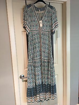 spell and the gypsy collective Oracle Maxi Dress Sage Size S BNWT