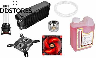 Thermaltake Pacific RL240 Kit de watercooling PC Waterblock x1 Pompe D5...