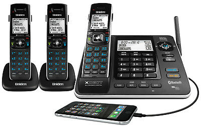Uniden XDECT 8355+2 Cordless Phone System with Bluetooth and Power Failure