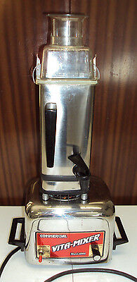 Vita Mix 4000 Vita -Mixer 4000 Commercial Chrome Blender