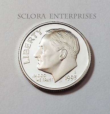 1993 S Roosevelt *90% Silver Proof* Dime **free Shipping**