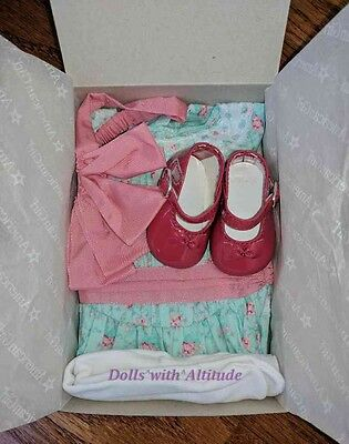 NEW American Girl Samantha Special Day Dress Outfit Floral Spring Summer