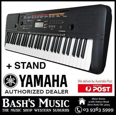 YAMAHA PSRE263 61 Key KEYBOARD NEW 2017 - REPLACES PSRE253 + STAND