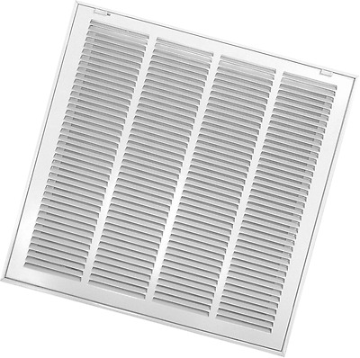 Accord ABRFWH1212 Return Filter Grille with 1/2-Inch Fin Louvered, 12-Inch x 12-