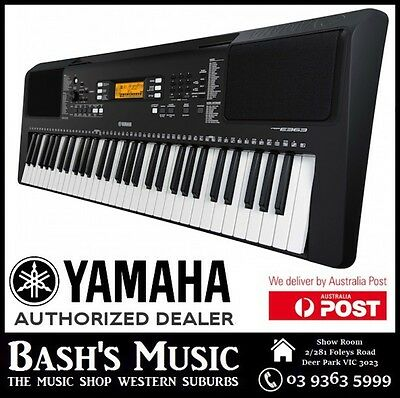 Yamaha Psre363 61 Key Keyboard New + Stand + Power Supply