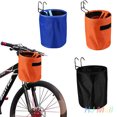 Outdoor Cycling Waterproof Bicycle Bike Cycle Handlebar Bar Basket Bag