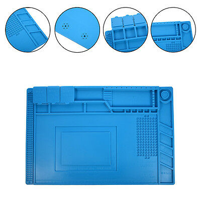 45x30cm Heat Insulation Silicone Pad Soldering Repair Platform with Magnetic