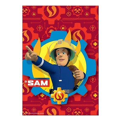 8 x Fireman Sam Loot Bags Party Bags Favours Fireman Sam Party Supplies