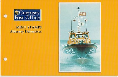 Alderney Presentation Pack Definitives 1989-1993  Stamp Set Mnh