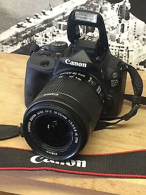Canon EOS 100D DSLR Camera with Lens 18-55mm