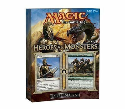MTG HEROES VS MONSTERS Duel Decks