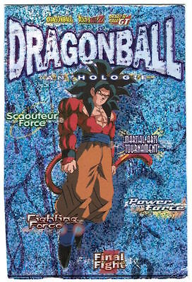 DRAGON BALL Z GT DBZ ANTHOLOGIE PANINI CARD CARTE Prism N° 107 Sangoku SS4