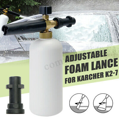 Pressure Washer Foam Gun Car Wash Bottle Lance For Karcher K2 K3 K4 Compact