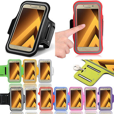 Gym Sports Armband Running Jogging Exercise Case for Samsung Galaxy A3 (2017)