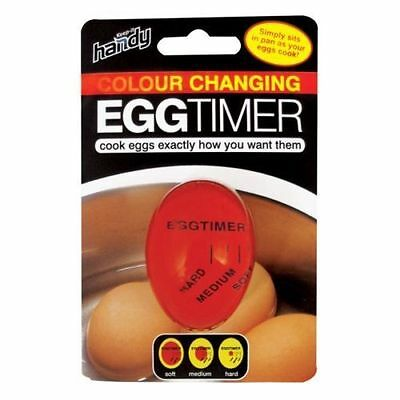 Colour Changing Egg Timer - Simply sits in pan as your eggs cook!