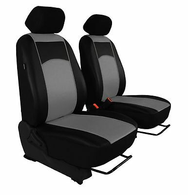 ECO LEATHER VAN UNIVERSAL SEAT COVERS for VOLKSWAGEN T4 1 + 1
