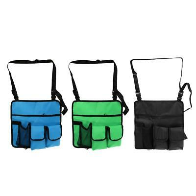 Multi Pocket Camping Travel Hanging Water Bottle Camera Phone Storage Side Bag