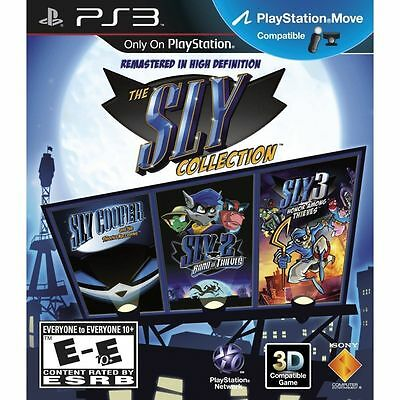 Sly Cooper Collection Trilogy PS3 Game Brand New in Stock From Brisbane