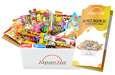 NEW! GENUINE JAPANESE CANDY PACKS 20-30-40-50-60-70 PIECES Snack Box Assortment