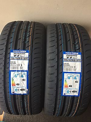 235/35/zr19 Toyo Proxes T1 Sport Extra Load 91Y Xl X2 Brand New Tyres