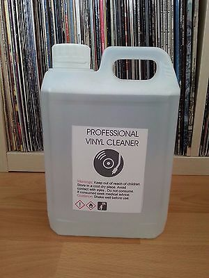 1.5 L VINYL RECORD CLEANING FLUID + FREE 3 PLASTIC RECORD SLEEVES for : KNOSTI .