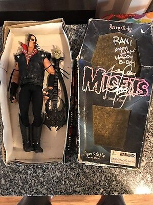 "RARE MISFITS JERRY ONLY 12"" ACTION FIGURE 1999 21st Cntry Toy Signed"