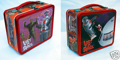 Lost in Space Metal Lunch Box / lunchbox B9 Robot