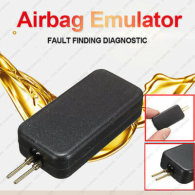1x Multifunction Airbag Emulator Simulator Bypass SRS Fault Finding Diagnost
