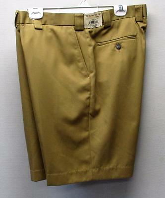 New Mens Size 40 Zomelo Camel Relax polyester golf shorts