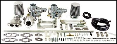 EMPI 47-7411  VW Beetle Dual EPC 34 Carb Kit Dual Port