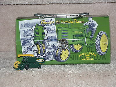 John Deere Metal Tool Lunch Box Wrench Handle & 1977 Matchbox Combine Harvester