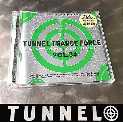 Tunnel Trance Force South Africa Vol. 34 • Tunnel 2Cd Album