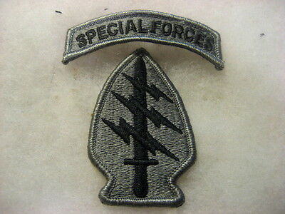 US Army Patch Special Forces ACU set