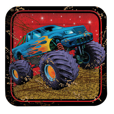 8 Pack 6 7/8 Square Luncheon Plate Mudslinger