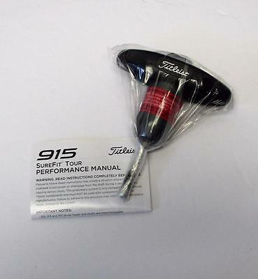 Brand New Titleist  Driver 913 Sure Fit Tour wrench and manual