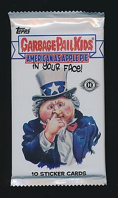 Garbage Pail Kids American As Apple Pie Sealed Pack