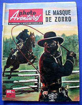 Photo Aventures N° 8 Mai 1958 ( Le Masque De Zorro