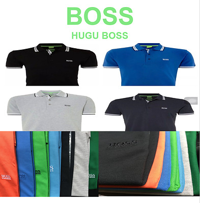 Hugo boss short sleeve men 39 s paddy polo picclick uk for Polo shirts clearance sale