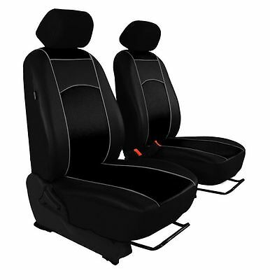 ECO LEATHER VAN UNIVERSAL SEAT COVERS for PEUGEOT PARTNER 1 + 1
