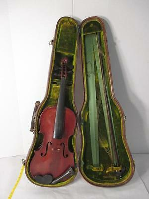 ■063941 *Antique Violin by Henri Farny ~ 1900. W/bow and case. Full size.